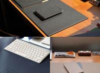 현대인의 깔끔한 책상 정리 프리미엄 데스크매트로 해결해드립니다.