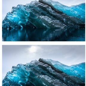 빙하 속살