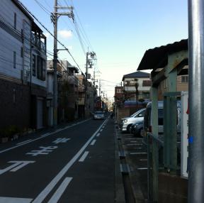 흔한 오사카 거리 풍경