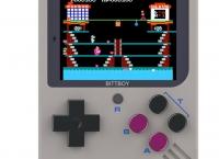 옛날 게임기 New BittBoy NES/GBC/GB (약 45,000원/무료배송)
