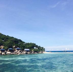 태국 코사무이 근처 섬