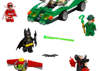 LEGO 레고 배트맨 Movie The Riddler Riddle Racer 70903