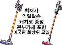 [큐텐] 다이슨 v8 /v10 진공청소기($410, $635 /무배)