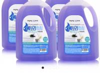 [네이버]에브리워시 대용량 액체 세탁세제 2.5LX4 총10L (8,900/택2,500)