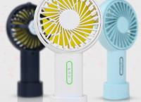 KC안전 반영구 배터리 3단 조절 바람 LED 가벼운 목걸이 휴대용 선풍기