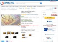 "[buydig] 55"" LG 55UH6550 4K UHD Smart HDTV + Magic Remote ($650 /fs )"