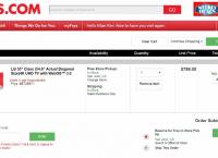 "[frys] LG 55"" 4K SMART TV 55UH6150 (코드적용가 $599/FS)"