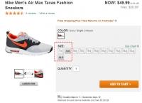 [dickssportinggoods] (Size-->8)  Nike Men's Air Max Tavas Fashion  ($49.99, Free)