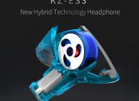 가성비 좋은 !!! KZ ES3 하이브리드 이어폰 1 BA + 드라이버 유닛 ($13.6/$1.05