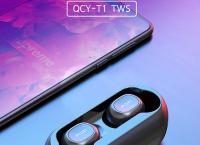 [쿠팡] QCY T1 TWS 국내정품 블루투스 5.0 무선이어폰 블랙