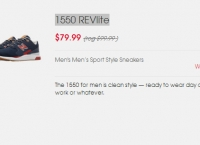 [newbalance] (공홈) 1550 REVlite ($67.99, Free)