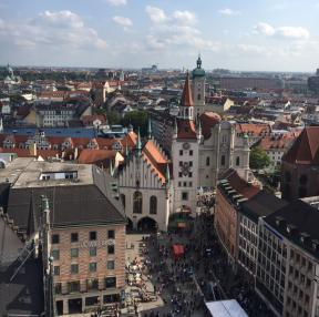 독일 뮌헨 시내!