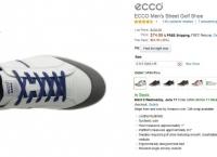 [AMAJON] ECCO Men's Street Golf Shoe(74.99$,무료)