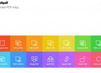 pdf 파일 변환하는 사이트