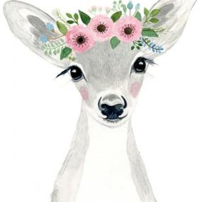 꽃사슴같은 하루되세요~